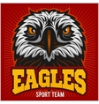 Eagles - sport team vector image vector image
