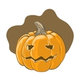 Halloween pumpkin - vector image