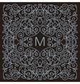 Monogram Design Element vector image vector image