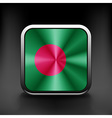 original and simple Bangladesh flag isolated in vector image