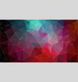 retro color geometric triangle wallpaper vector image vector image