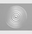 splash water or milk wave from drop vector image
