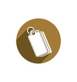Tag icon isolated vector image vector image