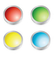 web buttons colors vector image vector image