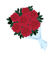 A view of rose vector image vector image