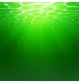 Abstract Underwater background Water waves vector image vector image