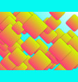 colorful geometric background with squares vector image