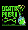 death poison vector image