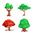 isolated object of tree and nature icon vector image