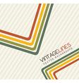 lines vintage vector image vector image