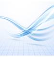 Speed blue swoosh data lines background