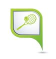 tennis GREEN pointer vector image vector image