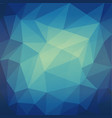 abstract blue grid mosaic background vector image vector image