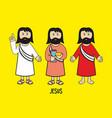 biblical of jesus christ vector image vector image