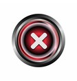 Decline deny reject icon button