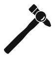 hammer tool icon simple style vector image vector image
