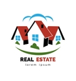 House or real estate logo vector image vector image