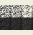 minimal geometric seamless pattern vector image