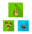 music and tune symbol set vector image