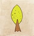 Tree Cartoon vector image vector image