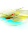 Abstract smooth bright flow background for nature vector image vector image