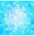 blue mosaic dotted background vector image vector image