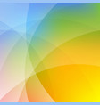 colorful dynamic wallpaper vector image vector image