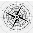 Compass white vector image vector image