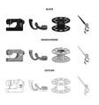 craft and handcraft symbol vector image