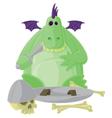 Goofy Dragon vector image vector image