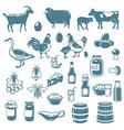 icon farm vector image