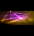 neon light effects particles vector image