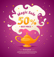 Original concept poster discount sale vector image vector image