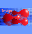 the style and detailed grace vector image vector image