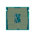 CPU Processor icon vector image