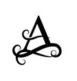 Capital letter for monograms and logos beautiful