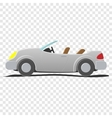Convertible - cartoon vector image vector image