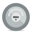 Robotic vacuum cleaner vector image