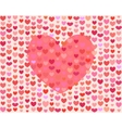 Saint Valentines Day Heart vector image vector image