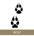 trace of animal walf