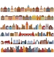 Variants of houses vector image vector image