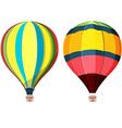 Balloon Hot air High Sky vector image
