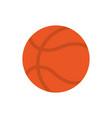 basketball ball sport education school icon design vector image