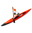 Canoe Sprint 2016 Sports Isometric 3D vector image vector image