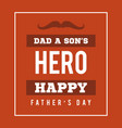 Father day background card red