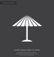 parasol mask premium icon vector image