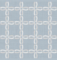 seamless medallion pattern in french cream linen vector image vector image