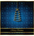 2018 merry christmas background vector image vector image