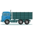 Delivery truck Shipping concept vector image vector image