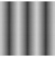 Design seamless monochrome dots background vector image